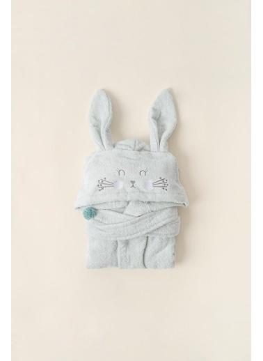 İrya Irya Bunny 4/5 Yaş Mint Çocuk Bornozu Mint